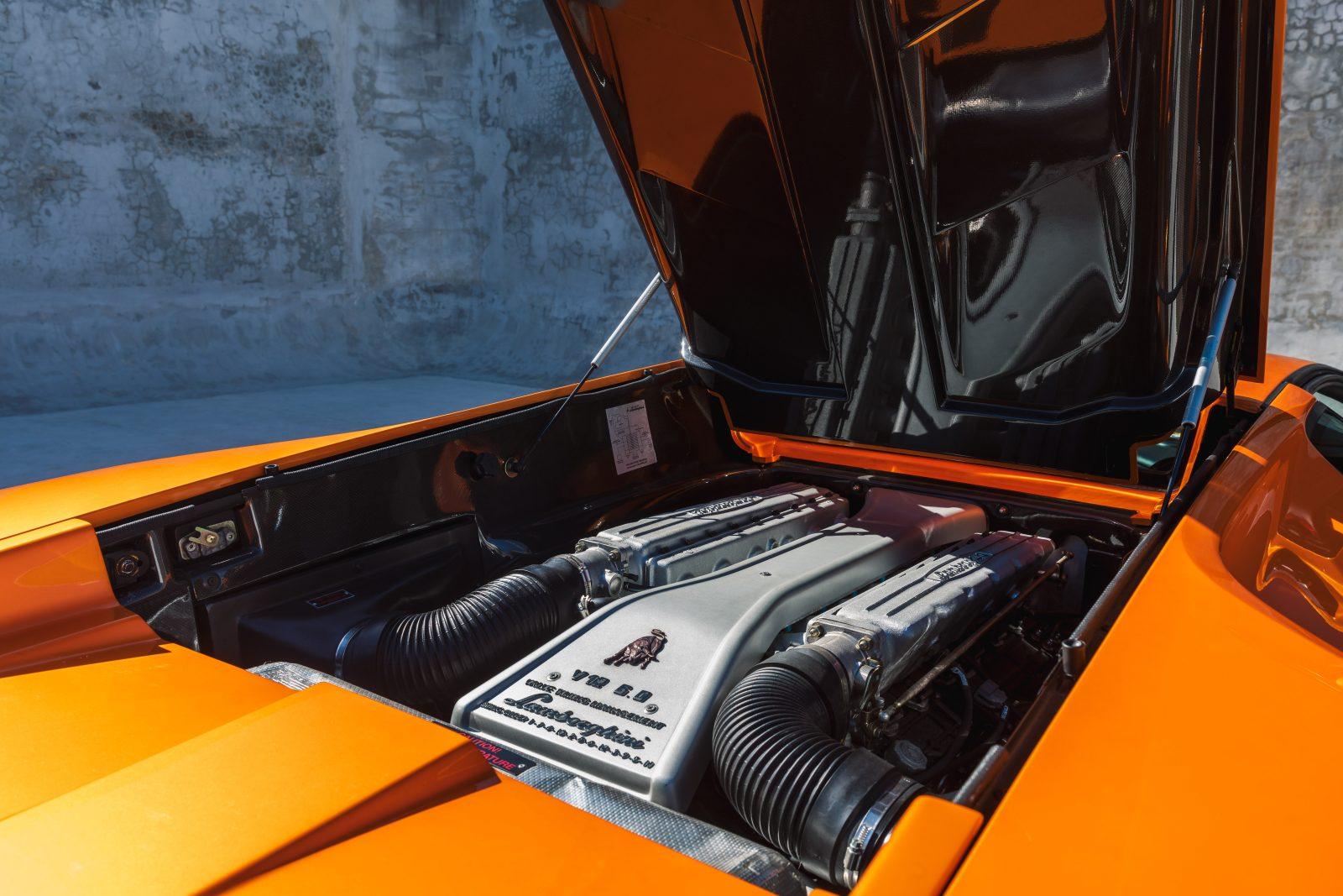 2001 Lamborghini Diablo 6 0 Orange Black 8 Of 8 Curated