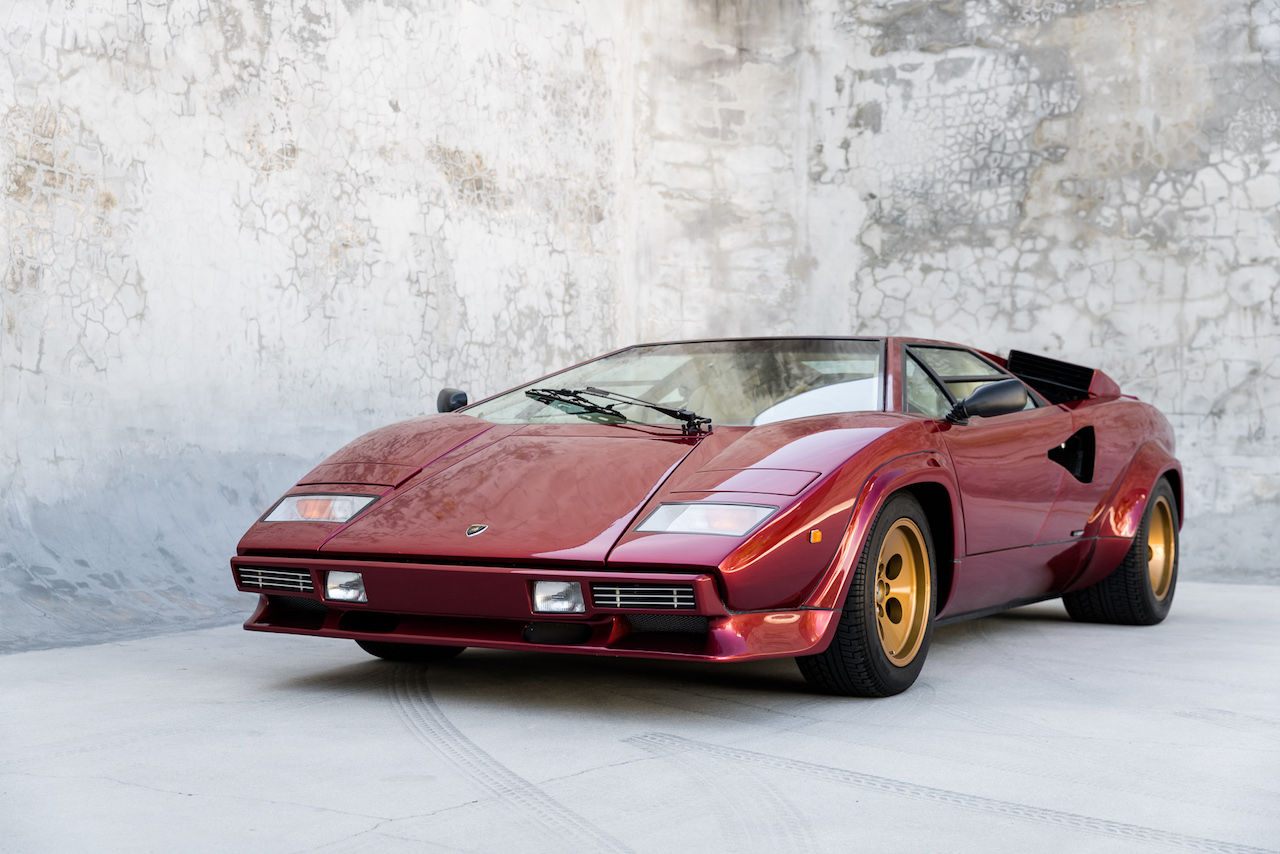Lamborghini Countach Downdraft Rosso Speciale 39 Of 58