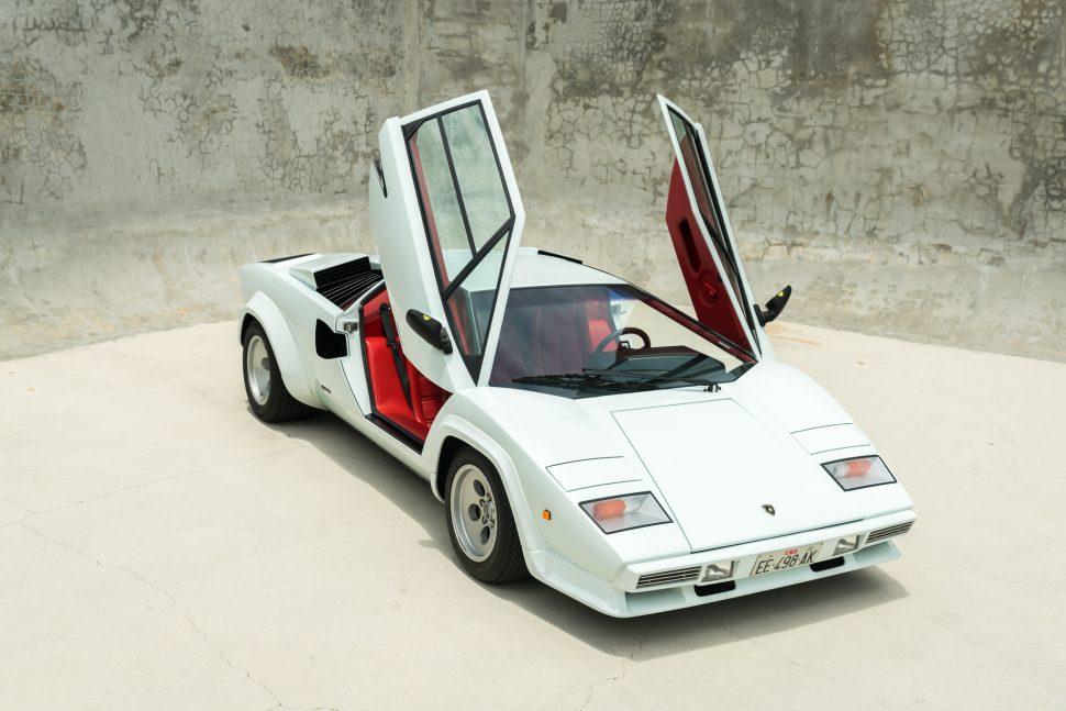 1985 Lamborghini Countach 5000S QV Downdraft