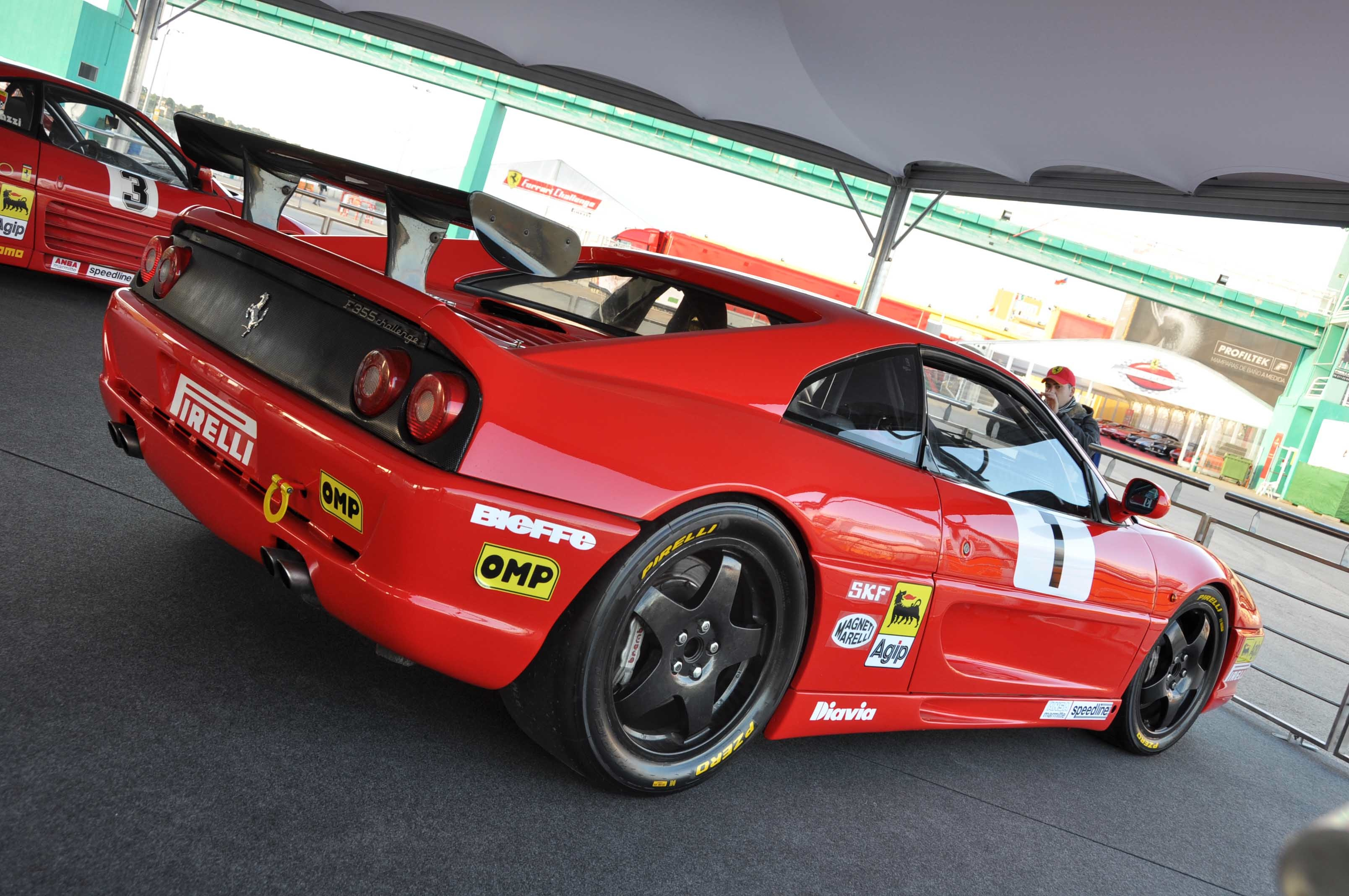 Ferrari Challenge Series Curated