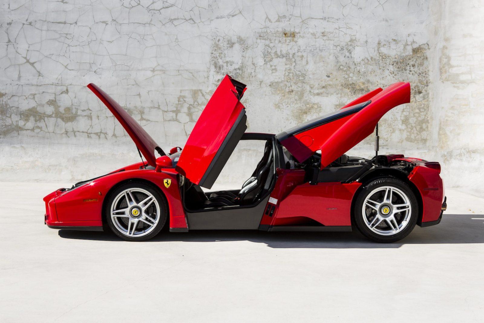 Ferrari New Car Crash