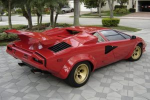 The First USA Specification Countach