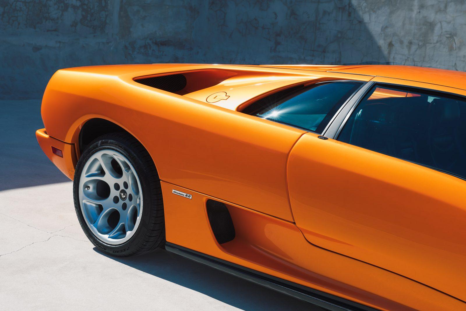 2001 Lamborghini Diablo 6 0 Orange Black 5 Of 8 Curated