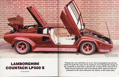 1 Of 2 The Lost Countach Turbo Curated