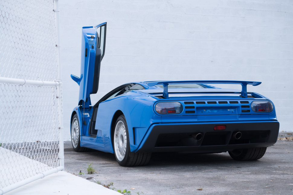 The one, the only, Bugatti EB110