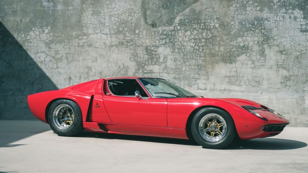 The Eddie Van Halen Lamborghini Miura S For Sale | Curated ...
