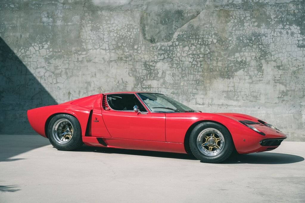 The Eddie Van Halen Lamborghini Miura S Curated