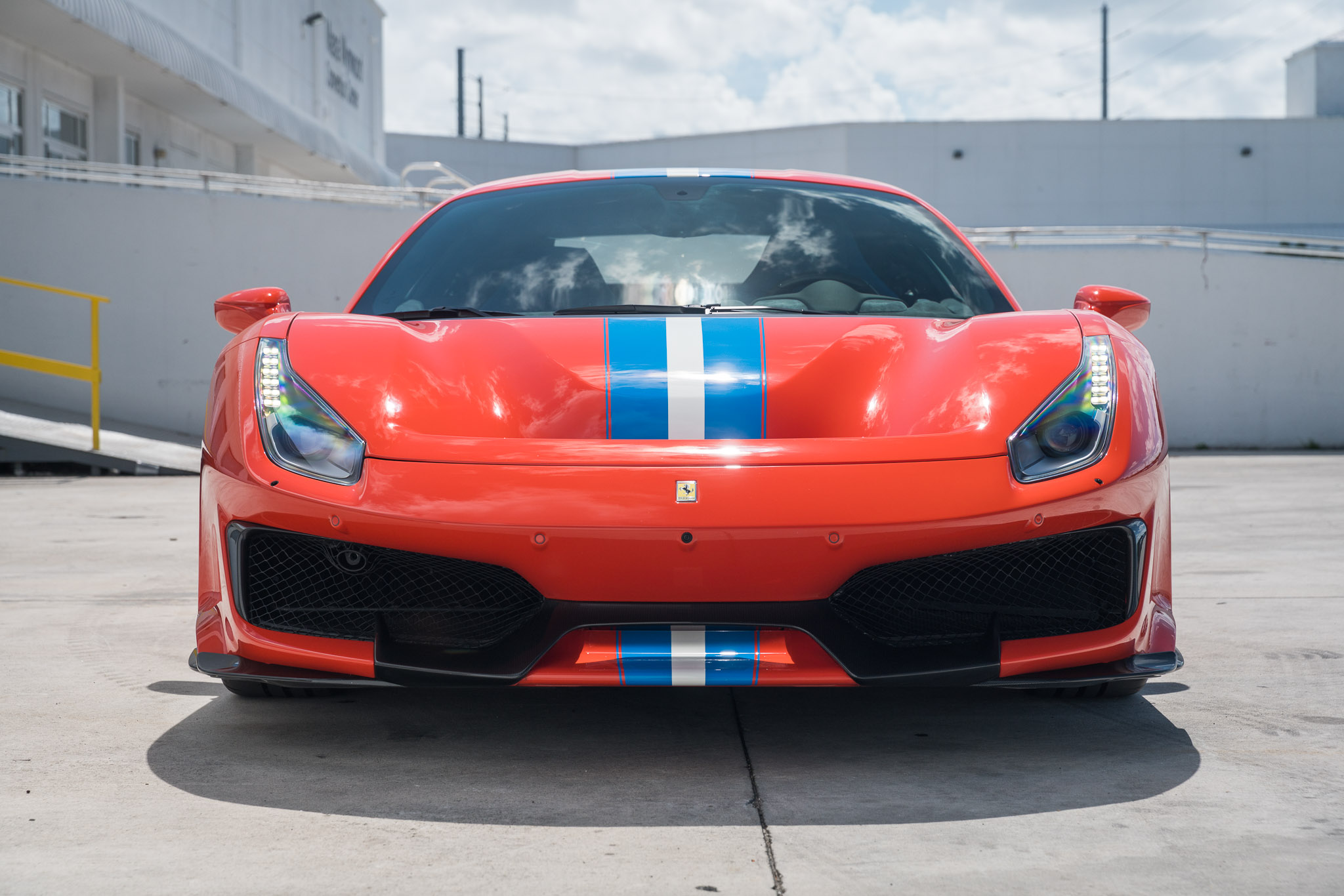 Ferrari 488 Pista Red 22 Curated