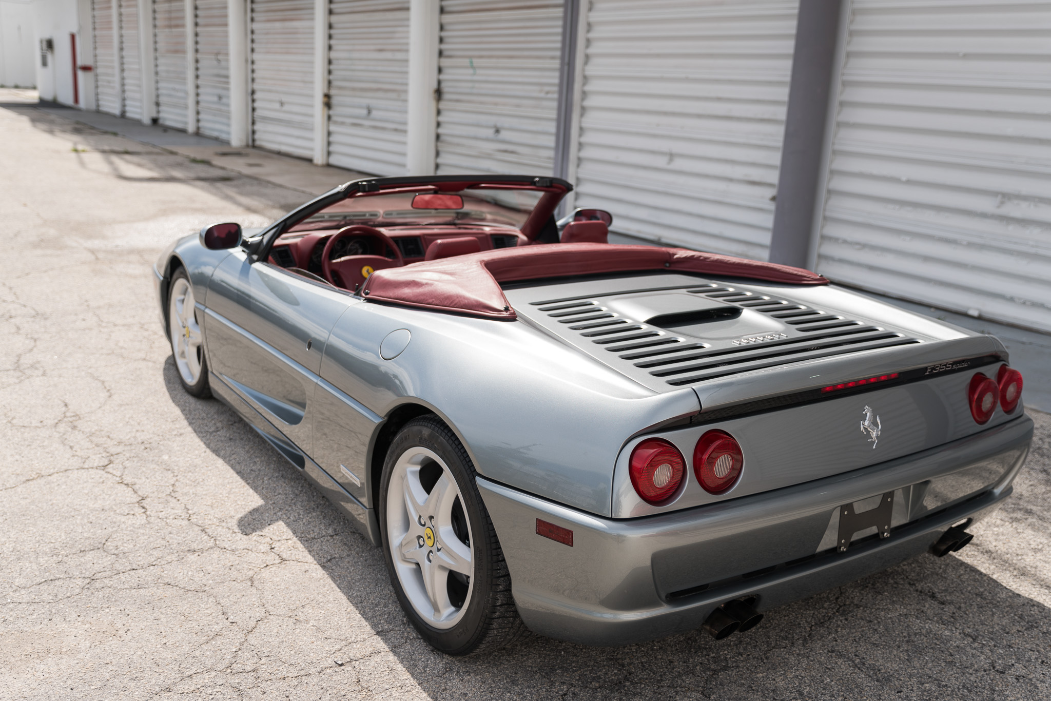 1997 Ferrari F355 Spider Manual For Sale Curated Vintage
