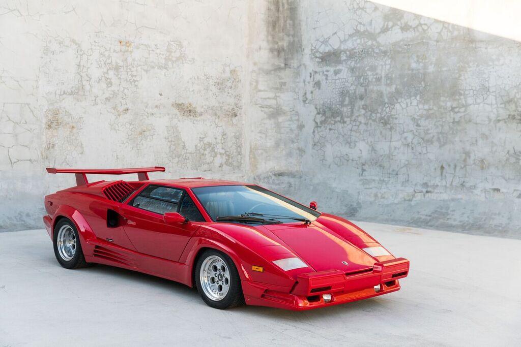 1989 Lamborghini Countach 25th Anniversary Curated