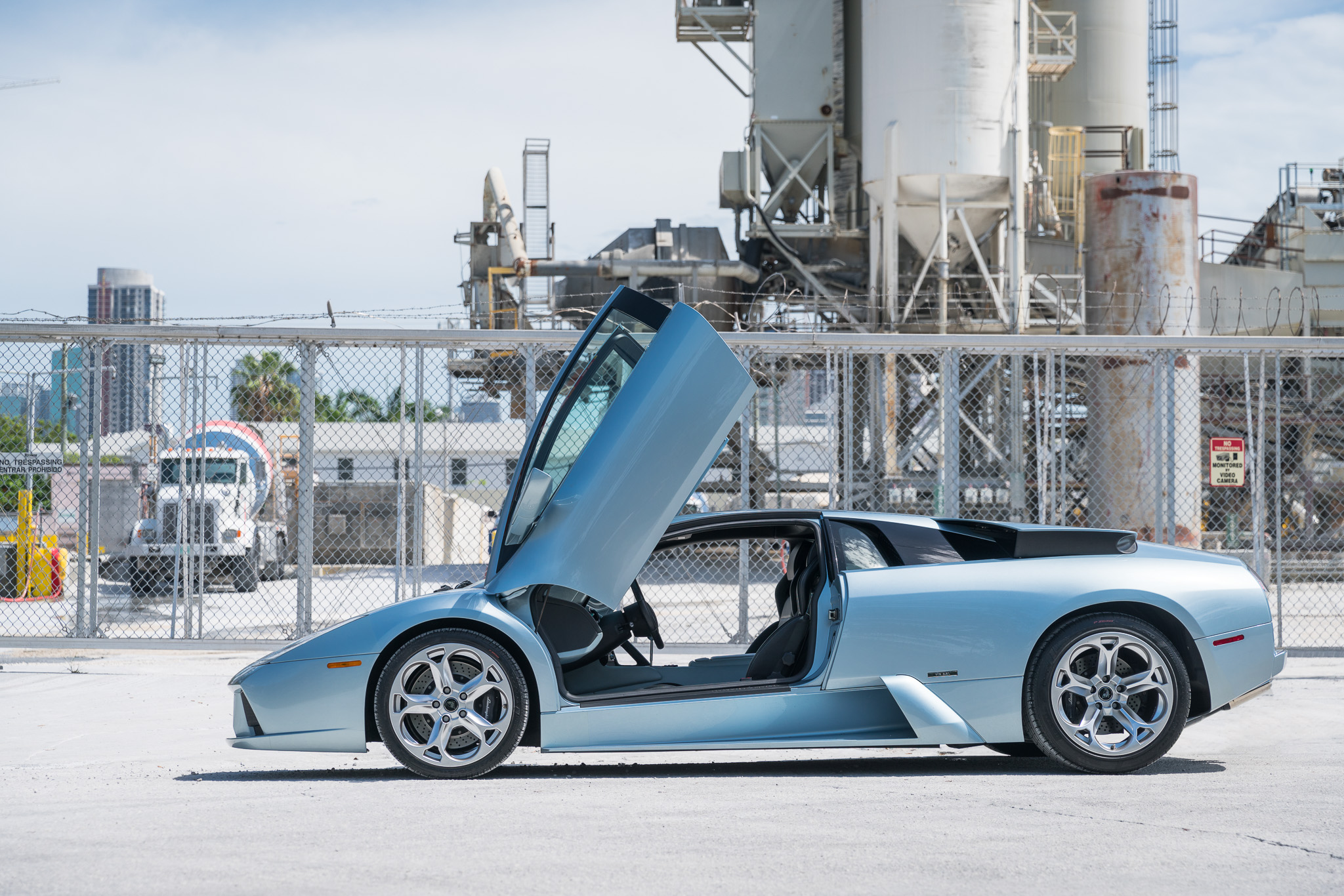 Lamborghini Murcielago 6spd Light Blue Metallic 9 Of 25 Curated