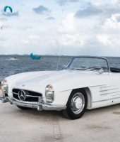 Mercedes Benz 300SL (White)-6686 For Sale