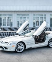 Mercedes Benz McLaren SLR (White)-7187 For Sale