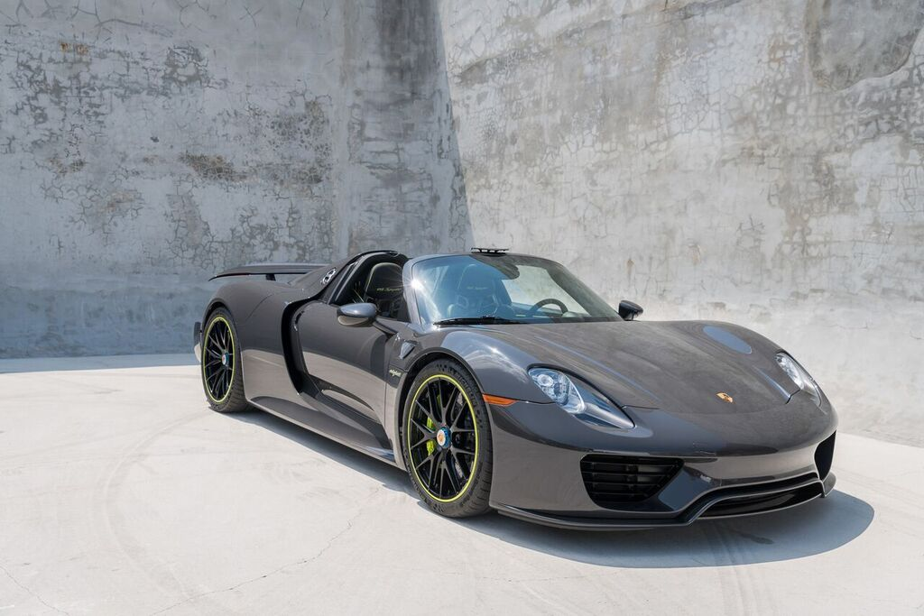 Porsche 918 Spyder Black Grey 2 Of 38 Preview Curated