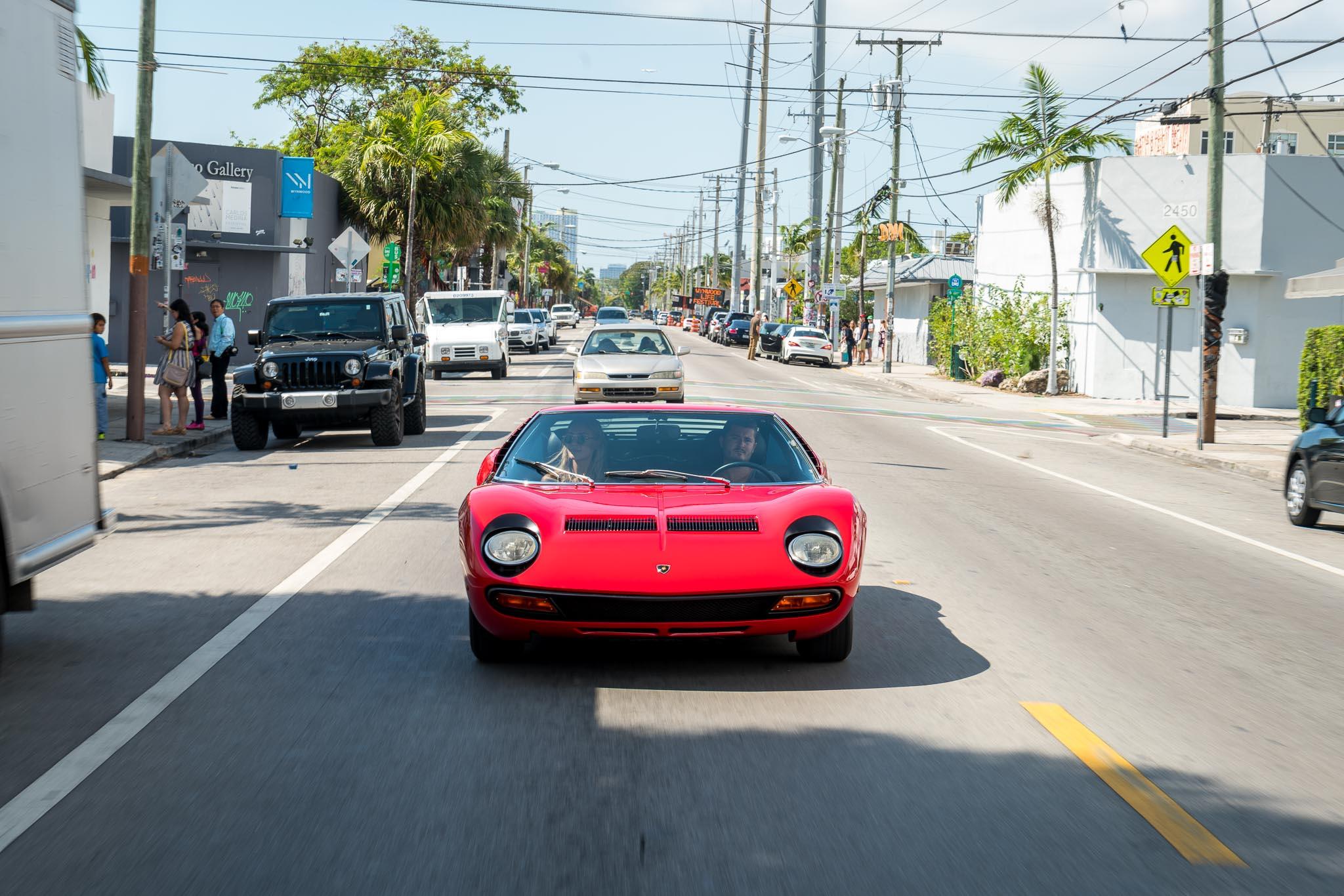 Lamborghini Miura Sv Curated