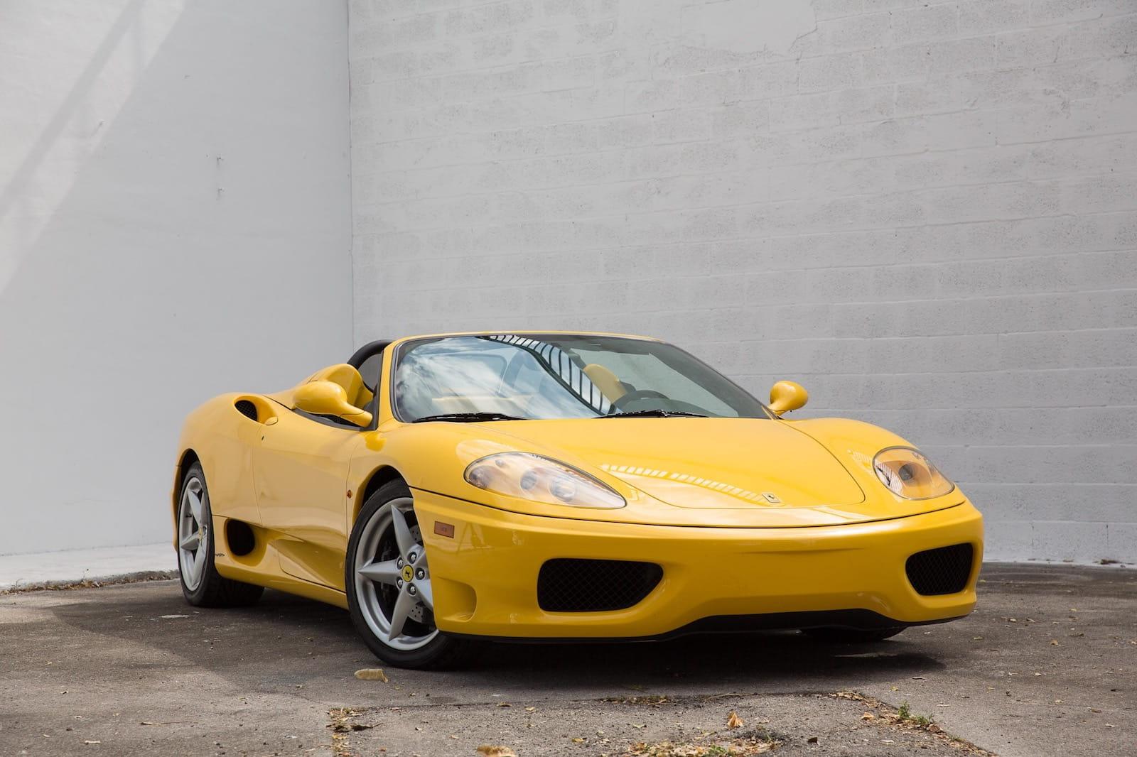 Ferrari 360 Spider Curated