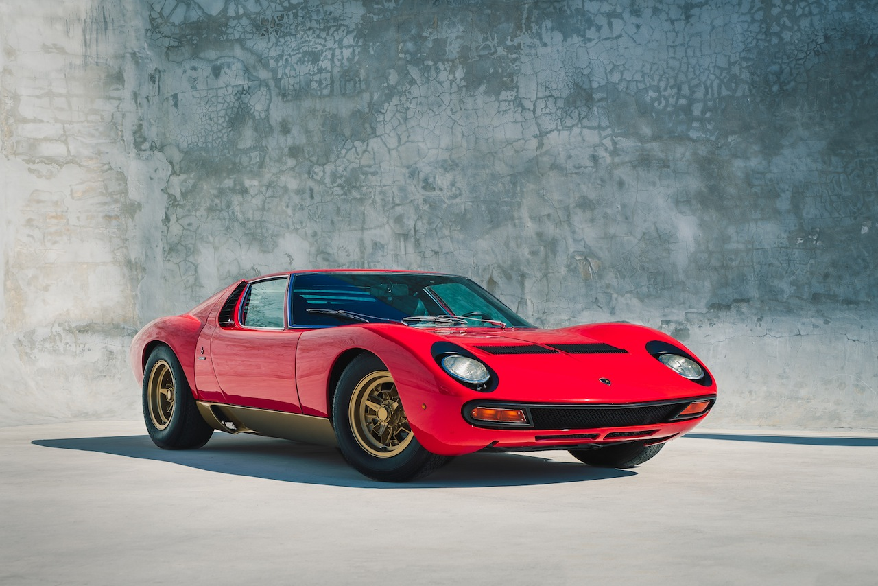 1972 Lamborghini Miura Sv Production 751 Curated